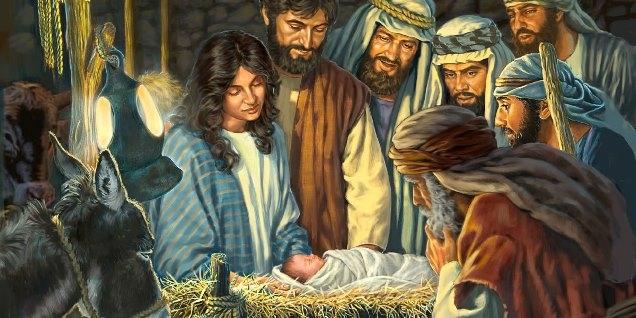 Ľudská láska božského dieťaťa v jasliach