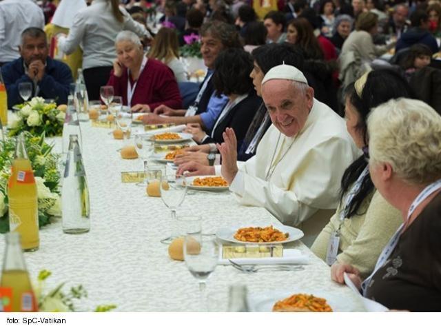 Posolstvo pápeža Františka na 4. svetový deň chudobných