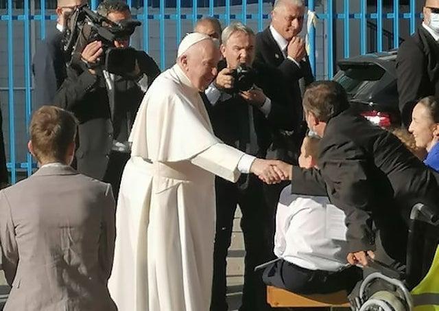Lucia Pálešová: Silným okamihom bolo, keď pápež pozdravil rodiny s deťmi