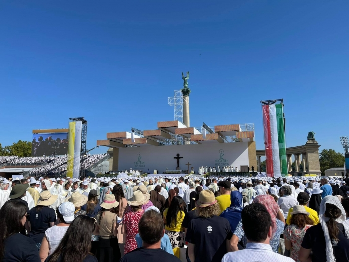 Na eucharistickom kongrese bol aj ekumenický patriarcha