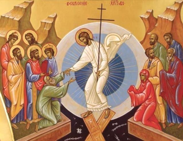 Kristus zostúpi do podsvetia