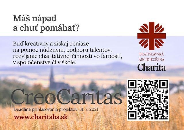 Bratislavská arcidiecézna charita vyzýva ľudí, aby vytvorili nové charitné projekty
