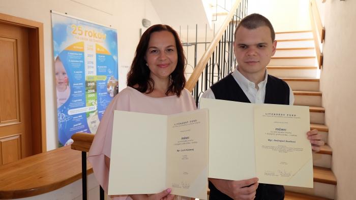 Literárny fond ocenil nahrávky Lucie Pálešovej a Ondreja Rosíka