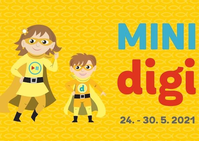 eRko pozýva deti, mladých ľudí, triedne kolektívy i celé rodiny zapojiť sa do kampane MINIdigi