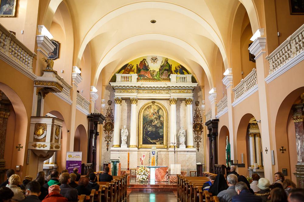 Aj banskobystrická Katedrála je tradičným cieľom pútnikov v srdci Slovenska