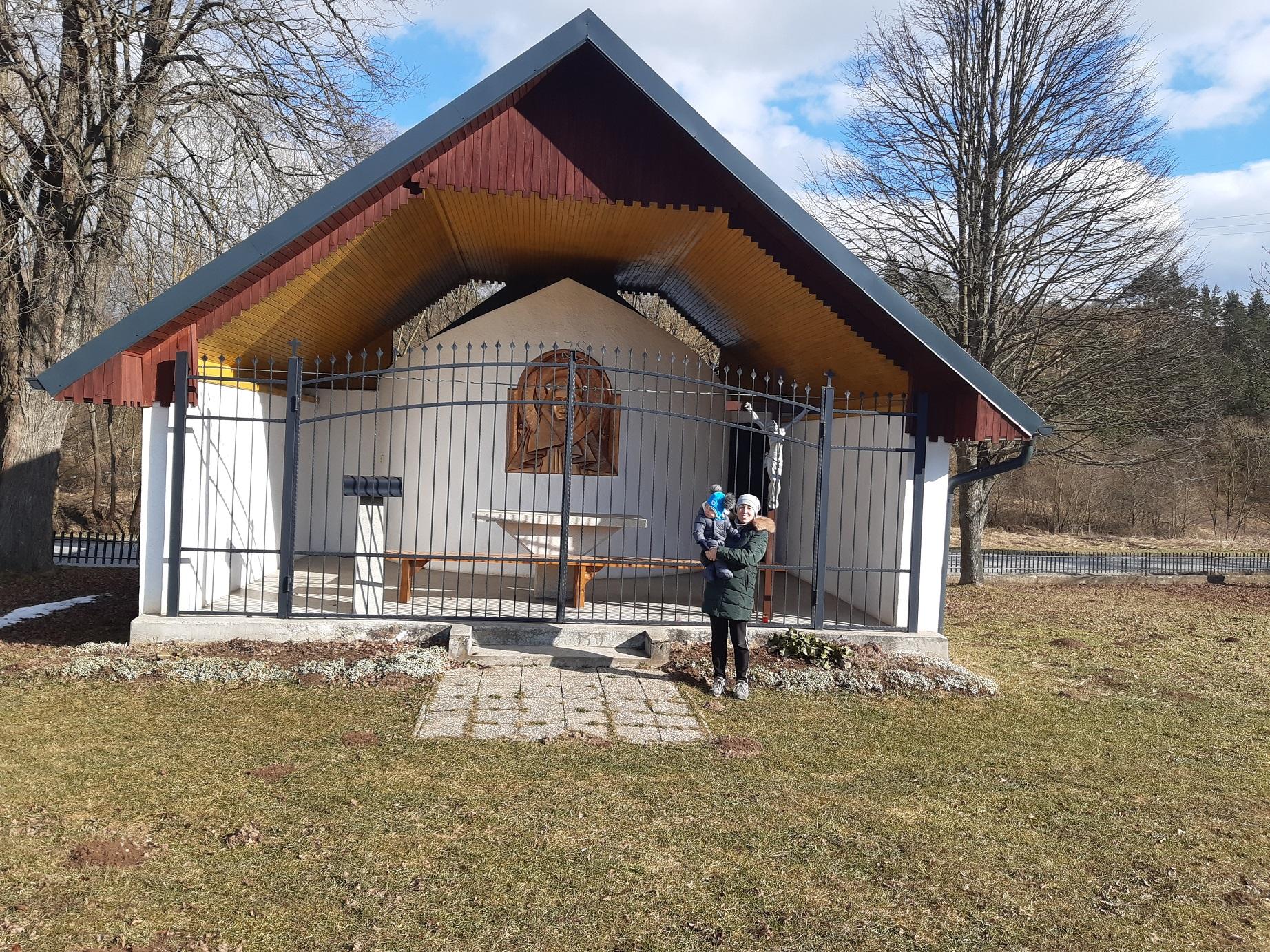 Komplexný pohľad na mariánsku kaplnku