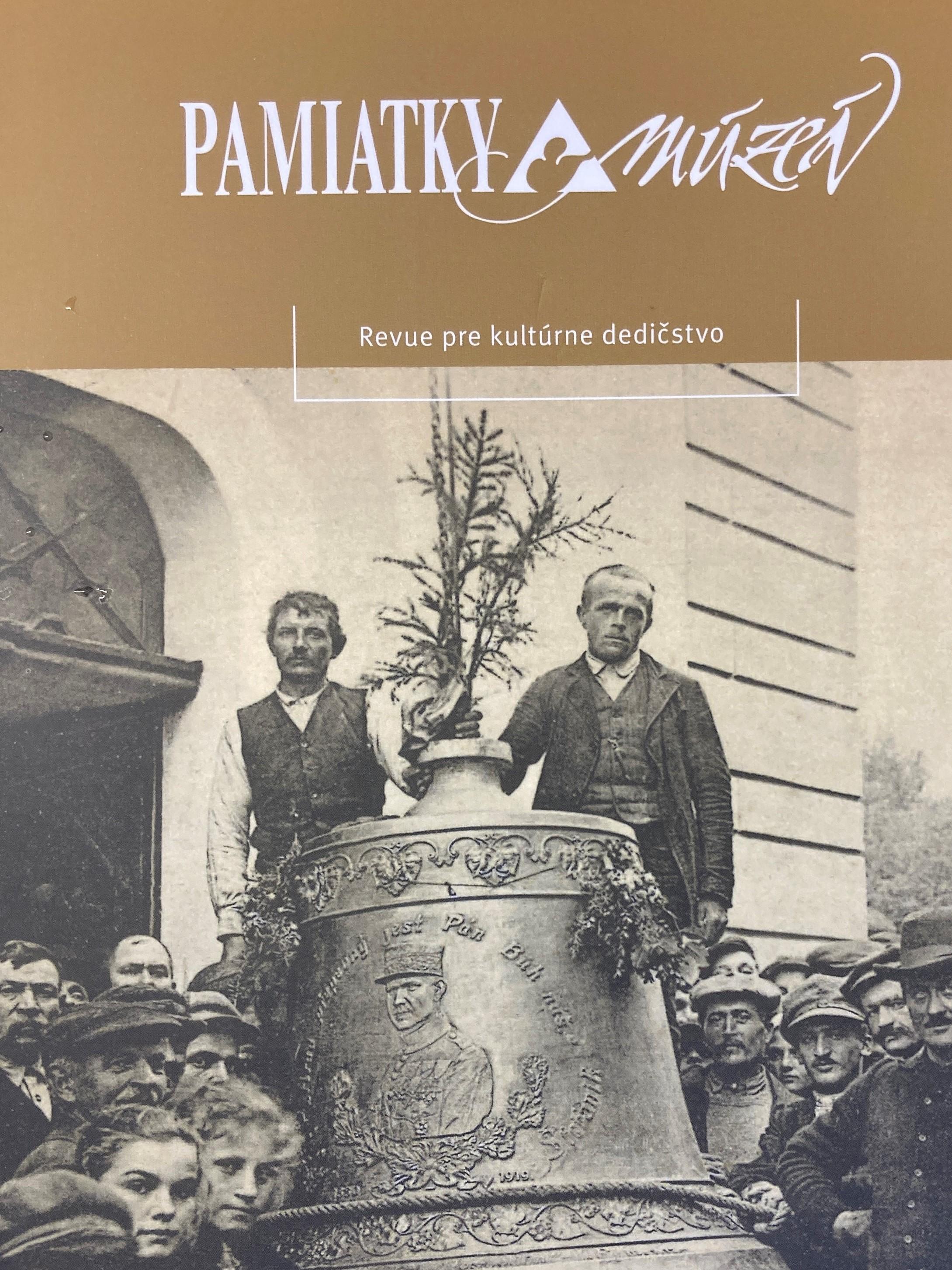 V najnovšom vydaní slávnostného čísla časopisu Pamiatky a múzeá, sme dokonca aj na samotnej obálke časopisu.
