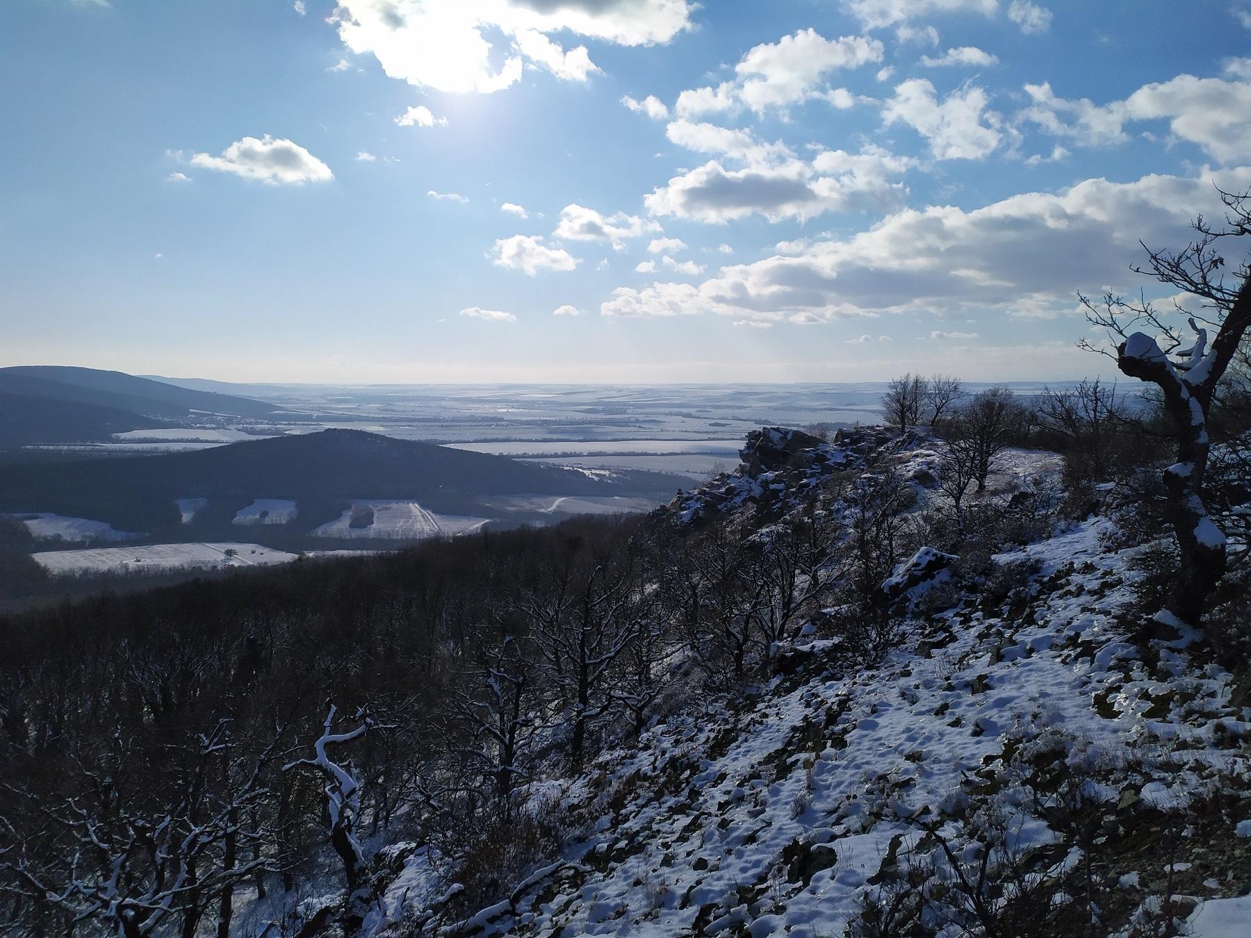 Veľkorysý výhľad z Hrdovickej